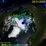 Arctic Sea Ice 2008 0831