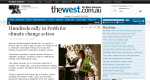 thewest.com.au report on hundreds of Perth marchers